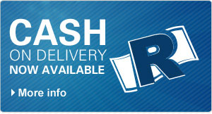 Cash on Delivery now available