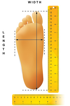 Takealot sport measuring guide