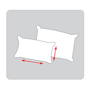 Pillow protectors sizing