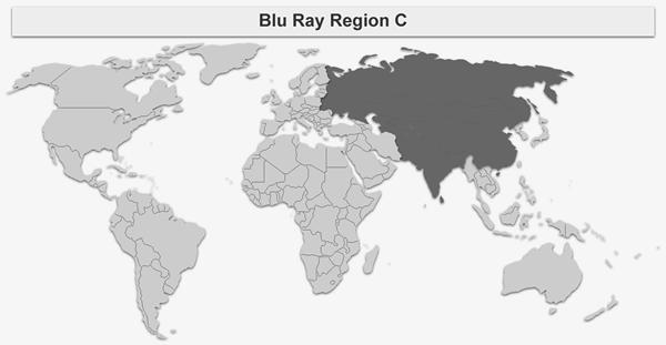 Blu-ray Region C